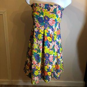 Fun Flirty Strapless Cooperative UO Dress